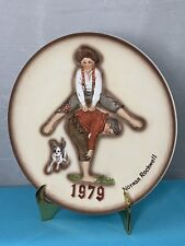 Norman Rockwell First Limited Edition 1979 Leapfrog Annual Plate