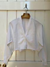 Urban Renewal Vintage 90s White Cropped Button Up Cardigan
