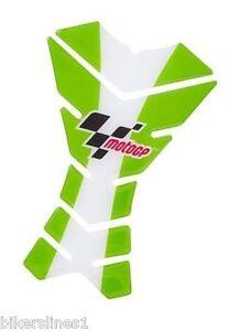 Motogp 3PC Réservoir Protecteurs - Vert/Blanc