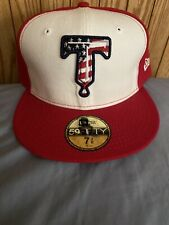 New Era 59fifty Tulsa Drillers Fourth Of July Edition MILB Hat  7 3/8