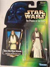 Star Wars The Power of the Force 'Ben(Obi-Wan) Kenobi & Lightsaber) 1995 Kenner