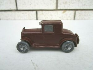 Vintage Barclay Chrysler Coupe Slush Mold Toy Car