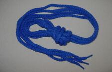 "SHOE-LACES~2 x Pair of 6mm x 1.20mtr (48"") Length Round Royal Blue Laces"