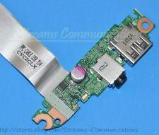 HP Pavilion 15-p133cl Laptop Audio Jack / USB Port Board w/ Ribbon Cable