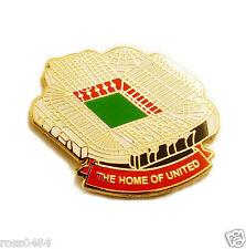 United Badge Stadium Manchester Collectors Gift Trafford