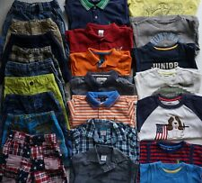 Boys Size 4 Summer Clothes Lot of 24 Items L1-19