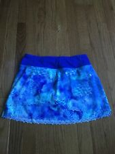 Ivivva Rally Girls Tennis Skirt Sz 12