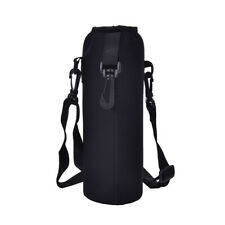 1000ML Water Bottle Carrier Insulated Cover Bag Holder Strap Pouch Outdoor BPSJ