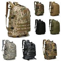 40L Outdoor Shoulder Military Tactical Backpack Camping Hiking Trekking Bag
