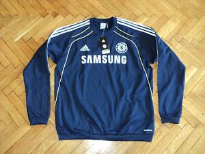 Chelsea Soccer Sweat Top England Football Adidas Sweatshirt NEW