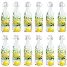 Botellas juego de Weck Altura 19 cm 12 unidades 0,5 L Con tapa