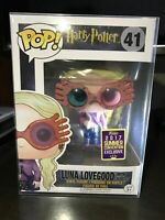 Funko Pop!Harry Potter Luna Lovegood #41 2017 SDCC PVC Exclusive With Protecto