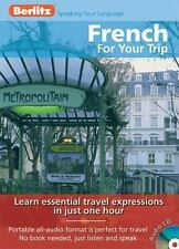 French for Your Trip Berlitz Audio CD