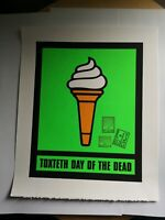 James Cauty,Bill Drummond Toxteth Day Of The Dead sign of Mu,Ice Cream Serigraph