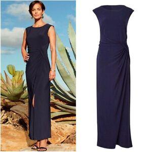 Joanna Hope Ladies Womens Sleeveless Jersey Maxi Long Evening Gown Dress Size 10