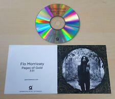 FLO MORRISSEY Pages Of Gold 2015 UK 1-track promo test CD