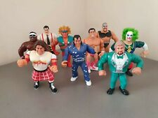 WWF Hasbro Wrestling Figures Lot, RARE WWE WWF wrestlers Series 1-9 (3 of 3)