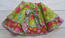 JELLY THE PUG CHRISTMAS TREE  SKIRT WHIMSICAL BOUTIQUE GIRLS TODDLER SIZE 24M