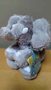 """New Ganz Webkinz Lil Kinz Elephant 6"""" Plush Toy Stuffed Animal Gray, SEALED CODE"""