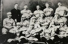 1887 CLASSIC TEAM BUFFALO BISONS WITH FRANK GRANT