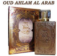 OUD AHLAM AL ARAB por ARD AL zaafaran oriental ámbar Woody Perfume Spray 100ml