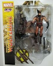 Diamond Select Toys Marvel Select BROWN UNIFORM WOLVERINE Action Figure Toy