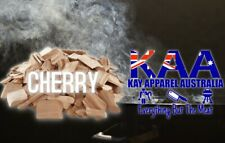 BBQ SMOKING WOOD - SMOKING CHIPS AUSTRALIAN CHERRY 3kg Food Grade, Hark, ProQ