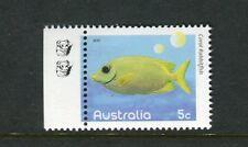 2010 Fishes of The Reef  MUH 5c Rabbitfish - 2 Koala Reprint (Left)