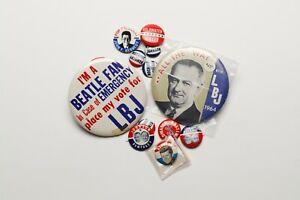 Vintage Original 1960's Presidential Political Buttons