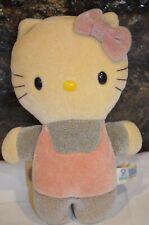 1985 Sanrio Hello Kitty Hello Color Vintage Plush Doll Read Desription!