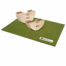 StewMac Rock-n-Roller Neck Rest, Set of 2 with Bench Pad