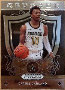 2019 Prizm Draft Picks Darius Garland Crusade Rookie Insert Vanderbilt #23