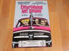 Barbara Windsor in Entertaining Mr SLOAN Original Theatre Royal BATH Poster