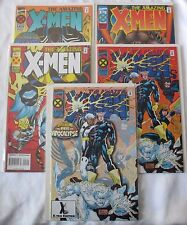 """Amazing X-Men Set 1 1 2 3 and 4 Including the rare """"Ghost"""" Variant All in NM/M!"""