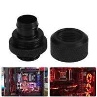 G1/4 External Thread Fitting Adapter PC Water Cooling for 9.5X12.7mm Soft Tube