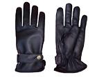 Motorcycle Gloves Winter Leather Motorbike Biker Rider Touring Warm Plain Gloves