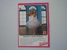 advertising Pubblicità 1989 BARBIE MATTEL