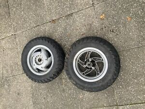 piaggio typhoon Wheel Set From A 125cc Old Model