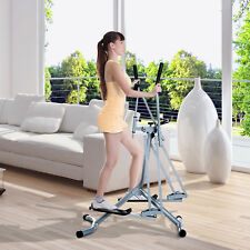 Homcom Air Walker Glider Cross Trainer Fitness Machine with LCD for