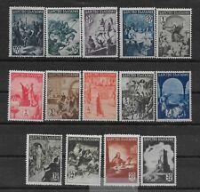 Bulgaria Ww Ii 1942 Bulgarian History Full Set Mnh*