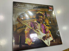 JIMI HENDRIX 2 LP FIRST NIGHT AT THE ROYAL ALBERT HALL  BLUE VINYL NUMBERED