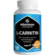 L-CARNITIN 680 mg vegan Vitamaze Kapseln   120 st   PZN13947416
