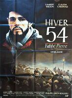 Plakat Winter 54 L'Abbé Pierre Lambert Wilson Claudia Cardinale 120 X 160 CM