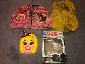 1971 Ben Cooper Sabrina the Teenage Witch Kids Halloween Costume Complete w Box