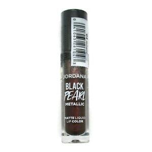 Jordana Black Pearl Metallic Matte Liquid Lip Choose Your Color