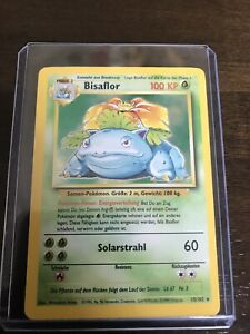 Pokemon German Base Set Bisaflor 'Venusaur' Holo NM/M