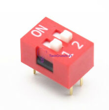 20PCS Slide Type Switch Module 2.54mm 2-Position Way DIP Red Pitch NEW