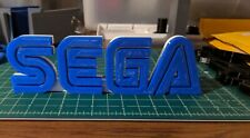 SEGA logo sign fan art 3D print 6+inches video game