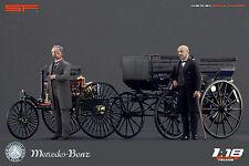 1/18 Karl Benz & Gottlieb Daimler VERY RARE!!! figures for 1:18 Mercedes