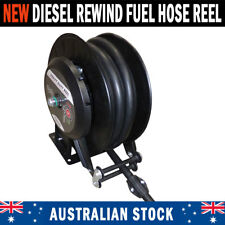 NEW Fuel Hose Reel Spring Rewind - Diesel Unleaded Petrol Oil Biodiesel AdBlue